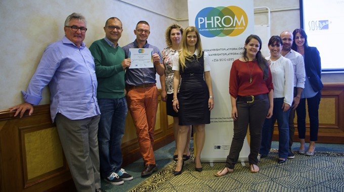 Official Launch of 'Platform of Human Rights Organisations in Malta' (PHROM)