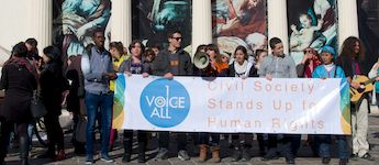 Civil Society Stands Up for Human Rights – 1Voice4All