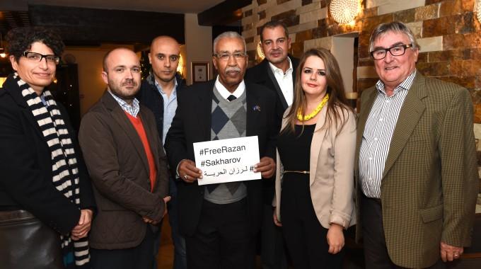 PHROM Meets Sakharov Laureate Ahmed El Zuber El Senussi