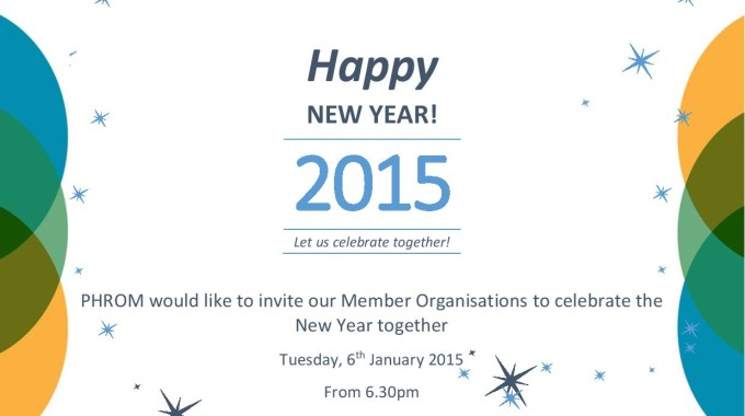 PHROM Member Organisations Celebrate the New Year Together!