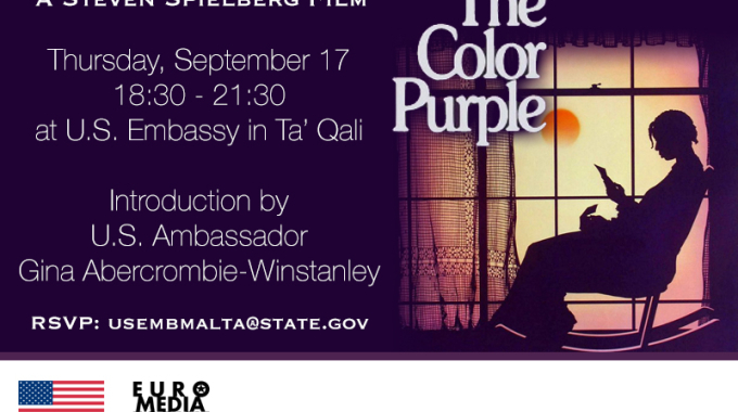 "U.S. Embassy Screening: ""The Color Purple"""